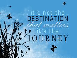 destination but the journey