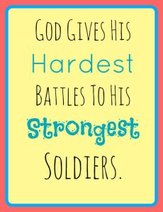 Strongest soldiers